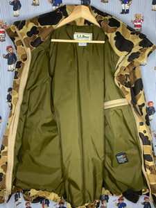 LL Bean Goretex Duck Camo (L)