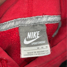 Load image into Gallery viewer, Nike Hoodie Red Tonal Y2K (M)