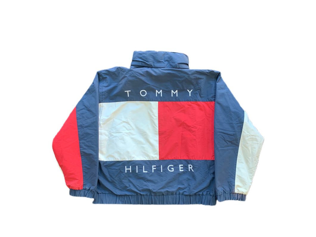 Tommy Hilfiger Big Flag Reversible Jacket (L)