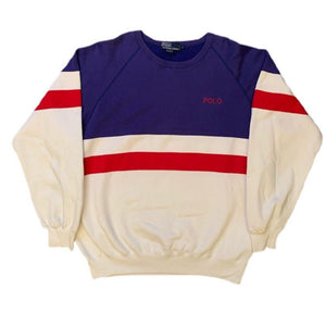 Ralph Lauren Striped Crewneck (L)