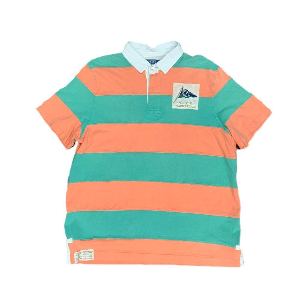 Ralph Lauren Yacht Club Striped Polo (XL)