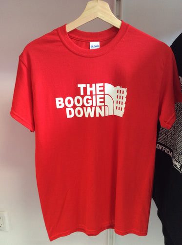Beond: The Boogie Down NorthFace Logo T-Shirt