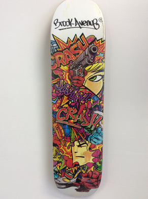 CRASH Skateboard Deck