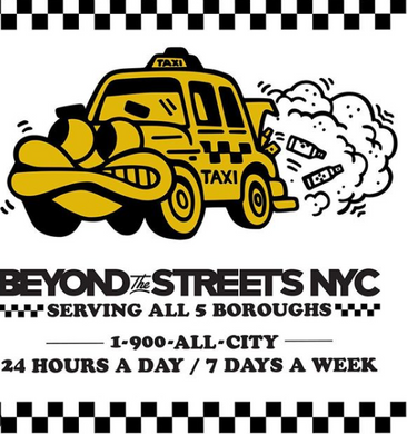 Taxi Pin | Beyond The Streets