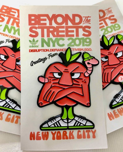 Bad Apple Pin | Beyond The Streets