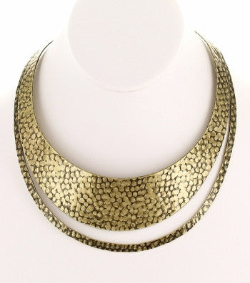 Cutout Accent Choker