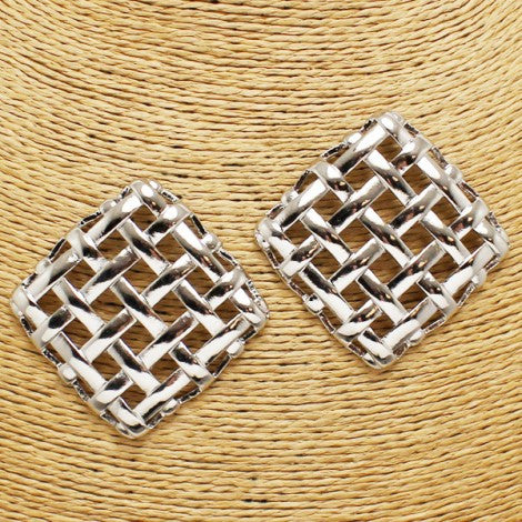 Intricate Weave Earrings