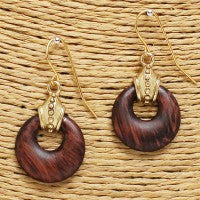 Wooden Earrings - Small
