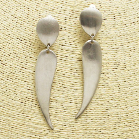 Lavish Earrings - Silver