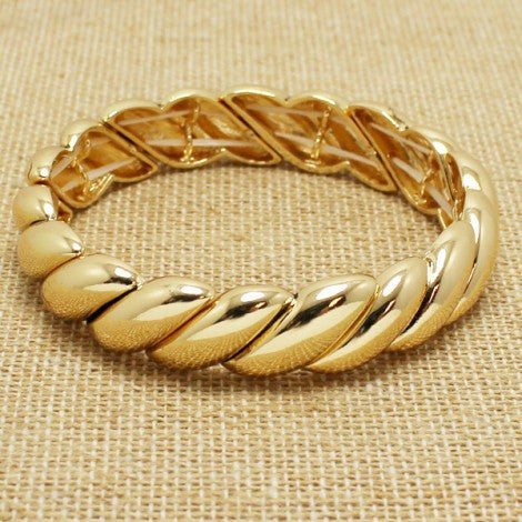 French Bangle - Gold