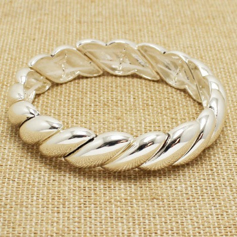French Bangle - Silver