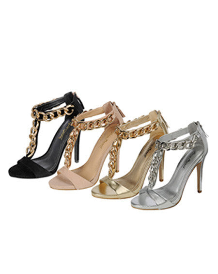 Decorative Chain Link Heel