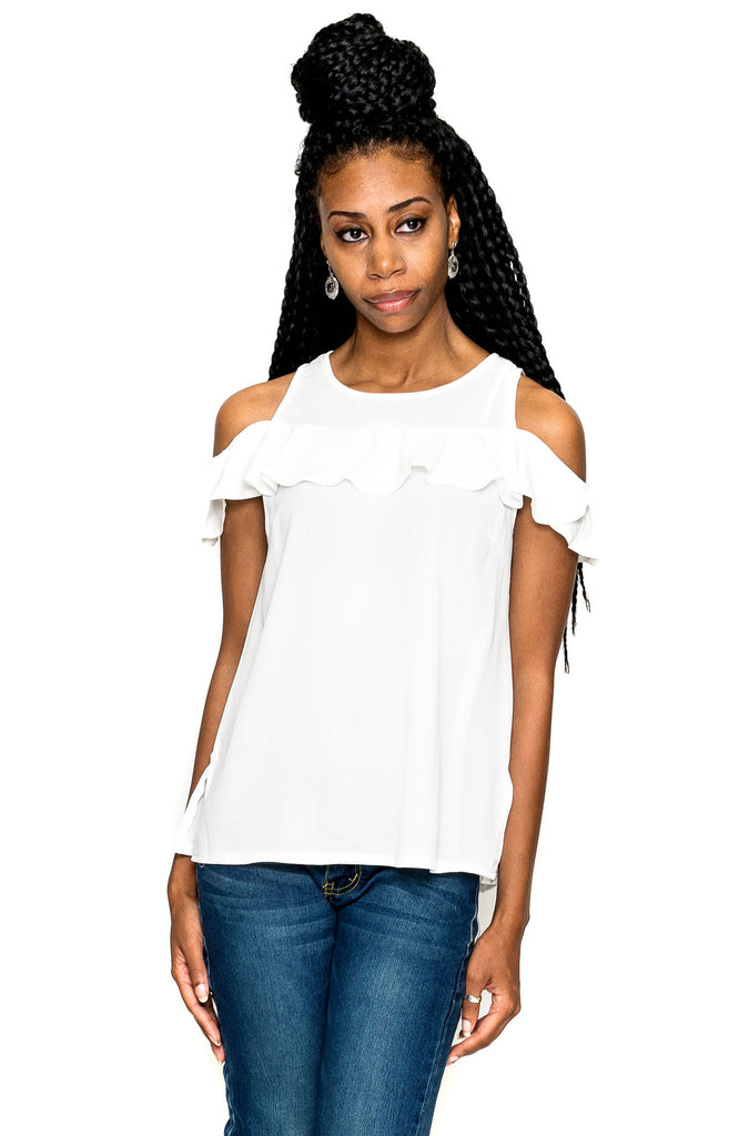 Everyday Glamour Top - White
