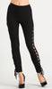 Side Lace Up Leggings