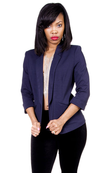 Tailored Blazer - Available in Black and Navy