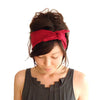 Ruby Red Headscarf