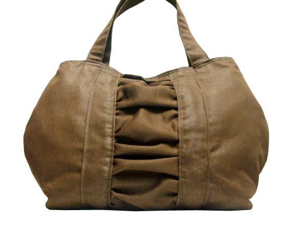Whenever, Wherever, Whatever Handbag in Brown