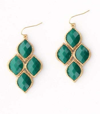 Polished Teardrop Earring 2