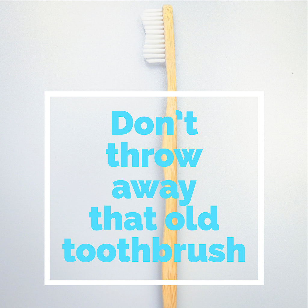 How to Reuse Old Toothbrushes How to Reuse Old Toothbrushes new picture