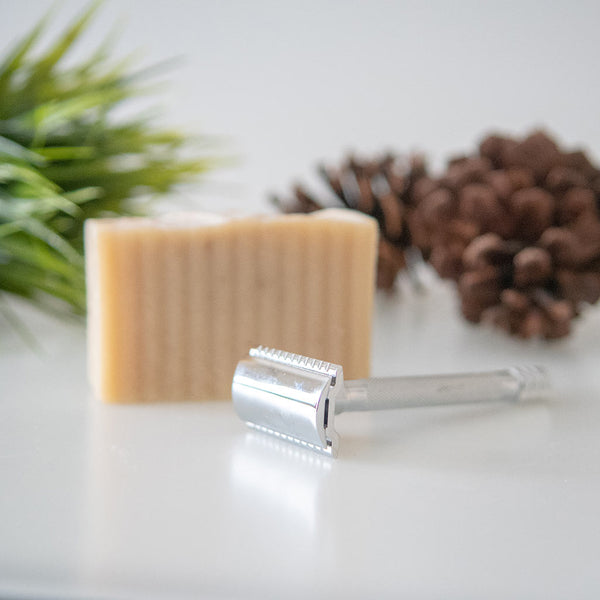 Merkur DE Safety razor and Shave soap