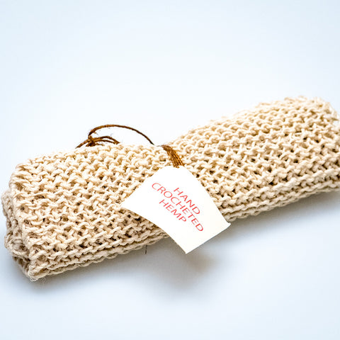Fair-trade Hemp Washcloth