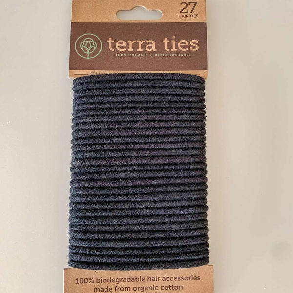 Biodegradable Elastic Hair Ties