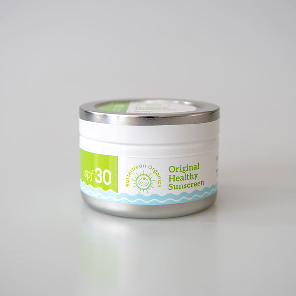 SPF30 Zero-waste Sunscreen: Organic, Reef-safe - 7 oz tub