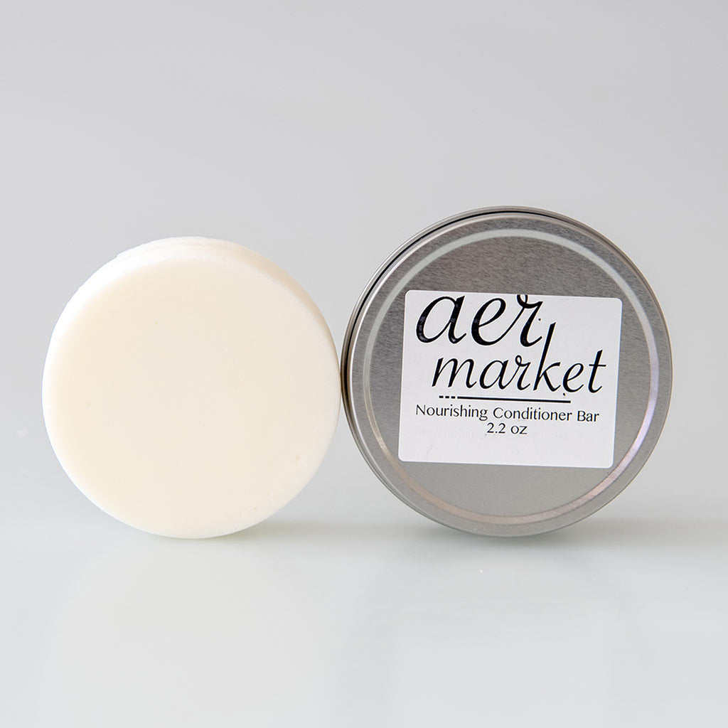 Hair Conditioner Bar in a Travel Tin