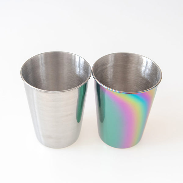 Stainless Steel Cup/Tumbler for Kids, Camping - 9 oz
