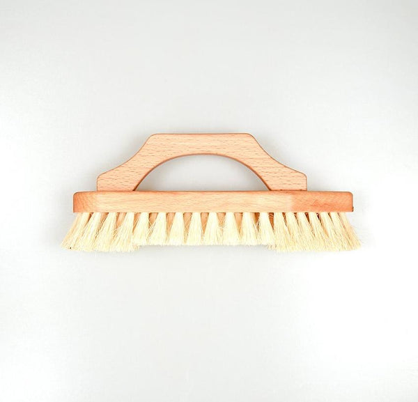 Wooden Scrub Brush With Handle