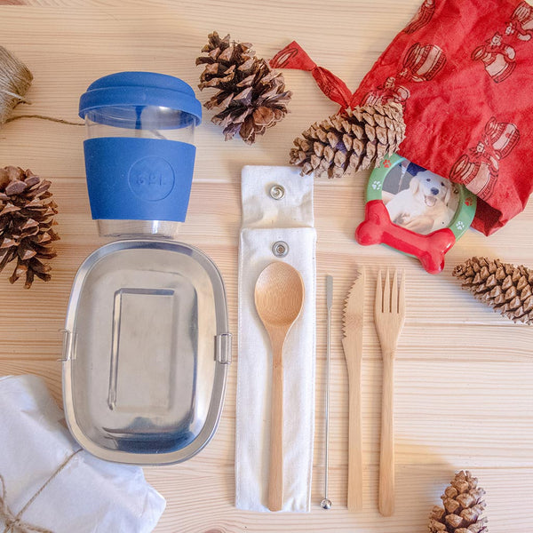 Zero-waste to-go gift set kit