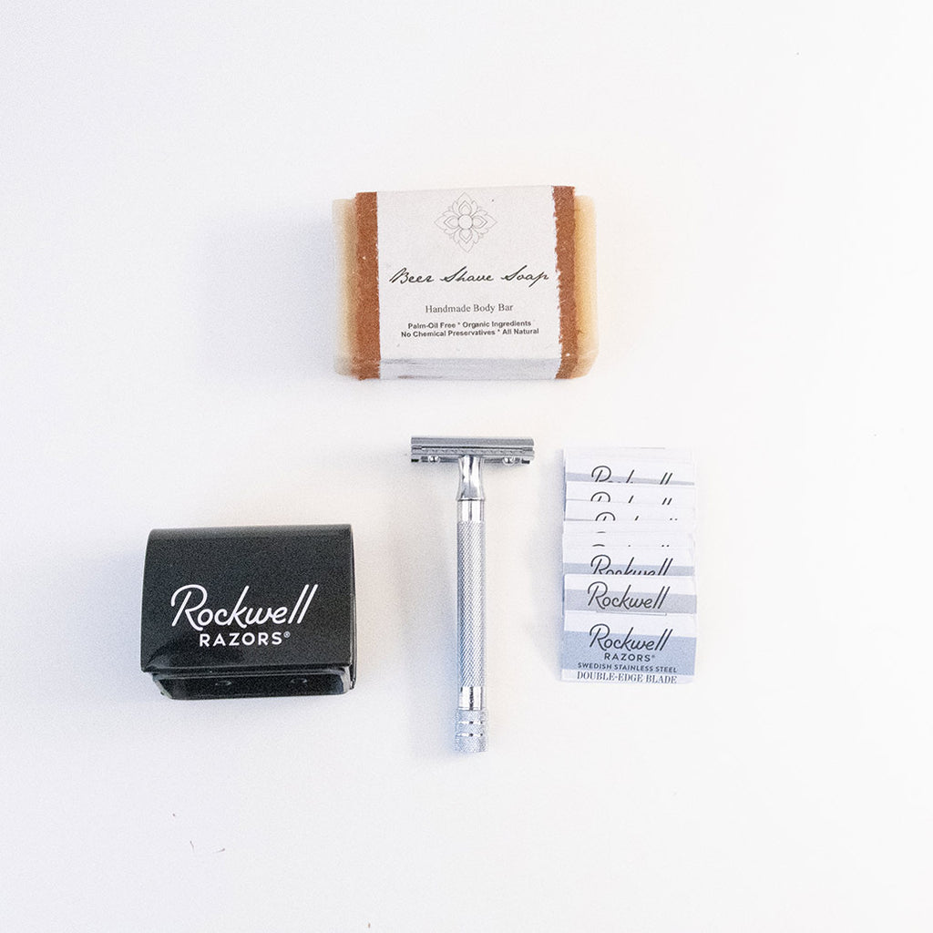 Double-Edged Safety Razor Shave Kit