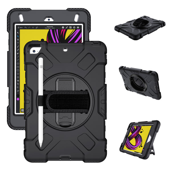 iPad mini 4 5 Case Tough On Rugged Protection Black