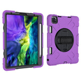 iPad Pro 11 inch (2018 & 2020 Model) Case Tough On Rugged Protection Purple