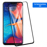 Samsung Galaxy A30&A20 Tempered Glass Screen Protector Tough on with Black Frame