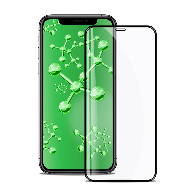iPhone XR Tempered Glass Screen Protector Tough on Antibacterial