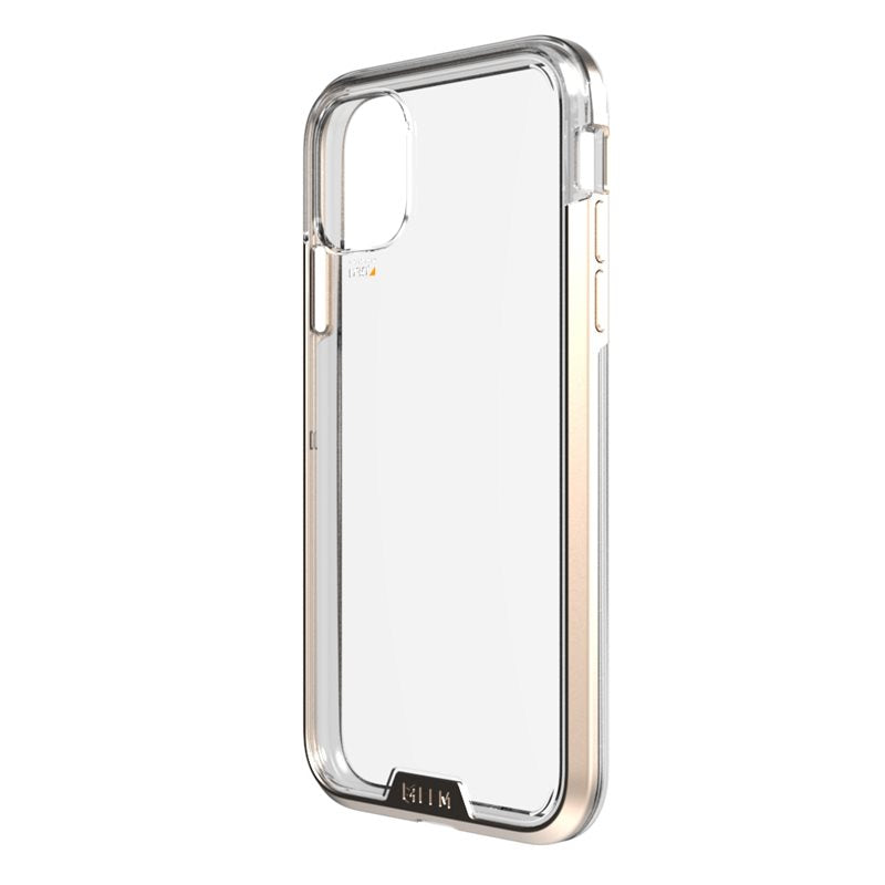iPhone 11 Pro Case EFM Verona D3O Crystalex Armour Clear & Gold