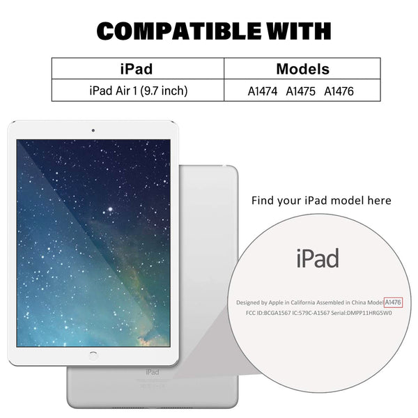 iPad Air 9.7 inch Tempered Glass Screen Protector Tough on