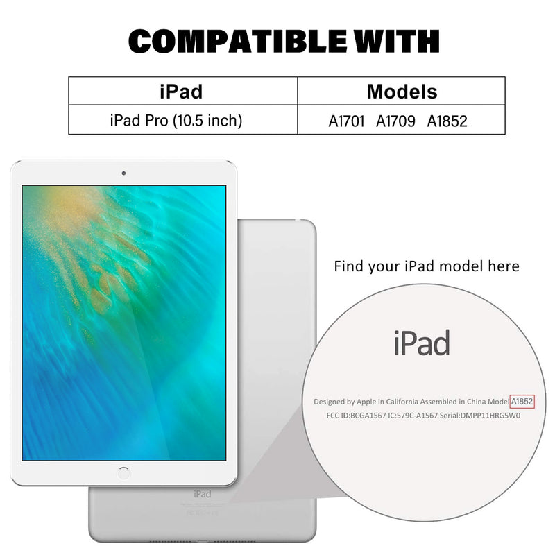 iPad Pro 10.5 inch Tempered Glass Screen Protector Tough on