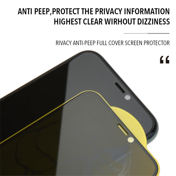 iPhone 11 Pro Privacy Tempered Glass Type Gorilla