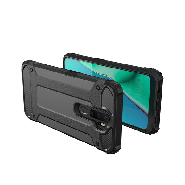 Oppo A9 2020 Case Tough On Heavy Armor Black