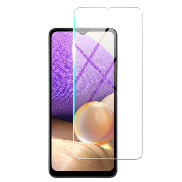 Tough on Samsung Galaxy A32 Tempered Glass Screen Protector Clear