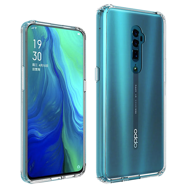 Oppo Reno 5G Case Tough On Slim Hybrid Clear