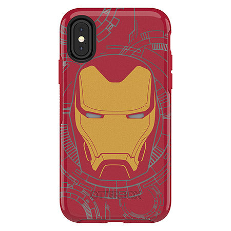 iPhone X & Xs Case OtterBox Symmetry Series Marvel Avengers Iron Man