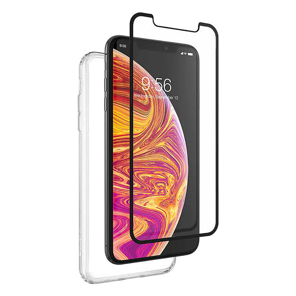 ZAGG Invisible Shield iPhone Xs Max 360 Protection Case + Glass Curve Screen Protector