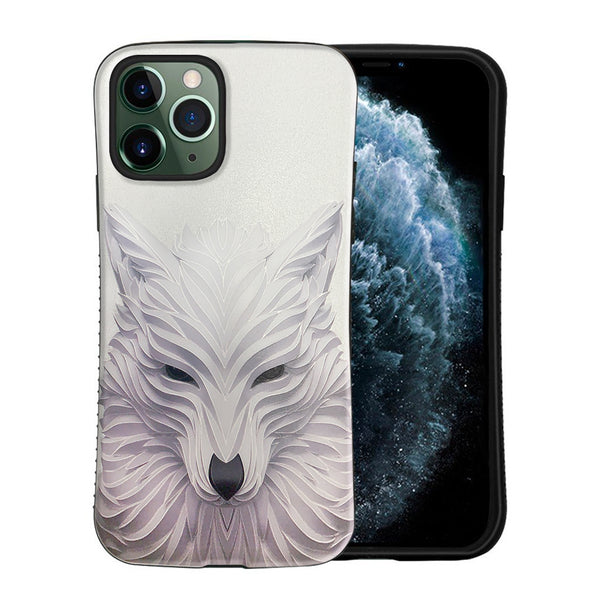 iPhone 11 Pro Max Tough on Heavy Duty White Wolf