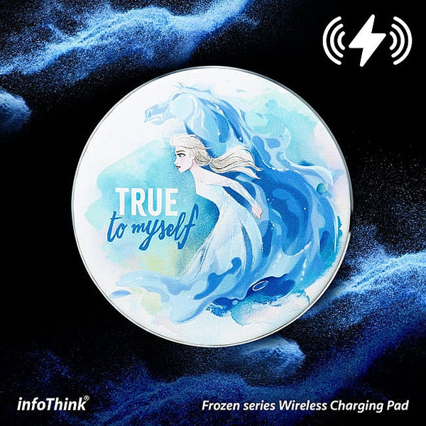 Disney Frozen Series Wireless Charging Pad(Elsa)