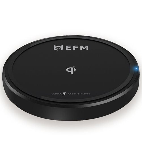 EFM 15W Wireless Charge Pad Ultra Fast & High Efficiency