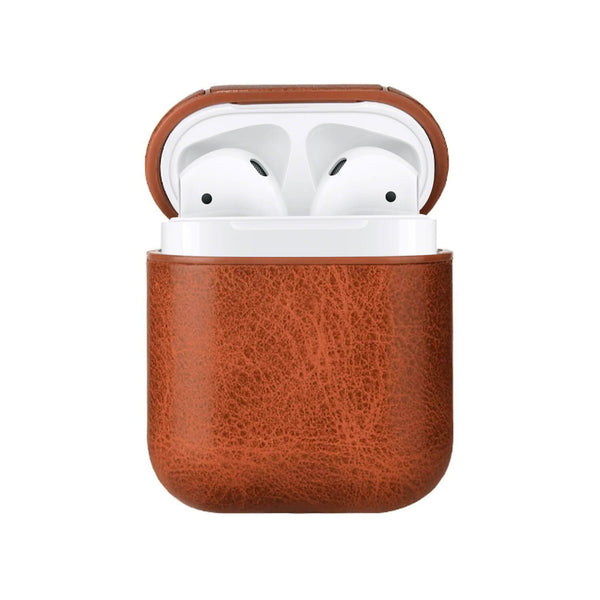 Apple AirPods Classic Leather Case Brown