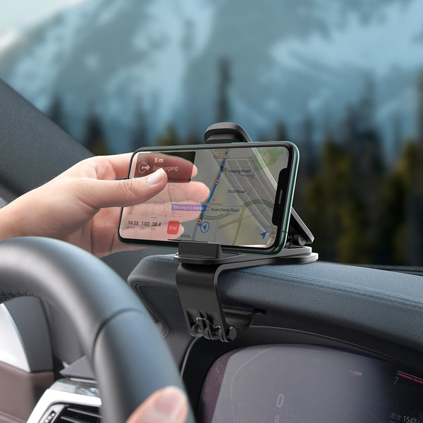 Baseus Big Mouth Pro Car Mount(Applicable to centre console)Black